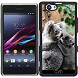 DesignedByIndependentArtists Hülle für Sony Xperia Z1 Compact - Koala by WonderfulDreamPicture