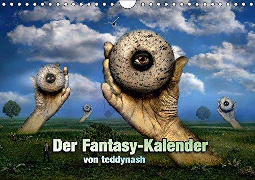 Der Fantasy Kalender (Wandkalender 2019 DIN A4 quer): Ein Fantasy Kalender (Monatskalender, 14 Seiten ) (CALVENDO Kunst)