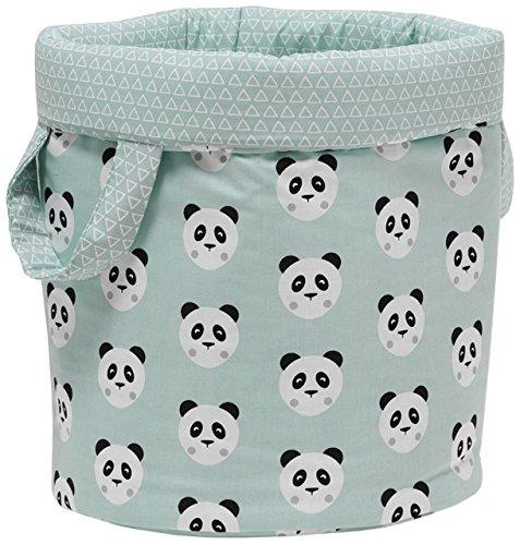 Funny Baby 630660 - Bolsa juguetes, 30 x 40 cm, color pandy mint