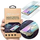 Urcover Nano Crystal Protection D' Écran Courbé | Samsung Galaxy S6 Edge Plus | Film Dureté 6H | Protecteur Ultra-Mince Touch Screen Anti-Choc Invisible Inrayable Transparent