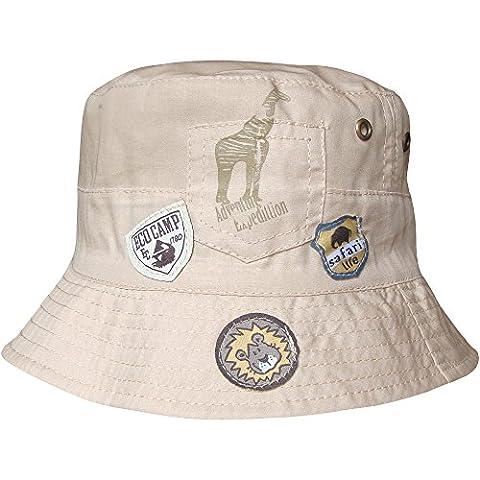 Chapeau de soleil pour bébés garçons, style aventure de safari, pour la plage - beige - S
