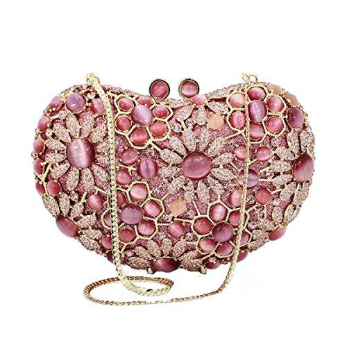 Kristall Kupplung Abendbeutel Handtasche B Luxus Hochwertig Frauen TFB1WS61