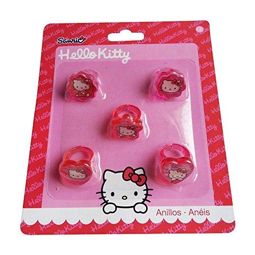 lot-de-5-bagues-hello-kitty-disney-bijou-fille