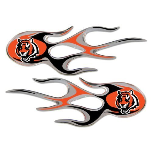 cincinnati-bengals-nfl-micro-flames-auto-decal-2-pack-for-car-truck-motorcycle-bike-mailbox-locker-s
