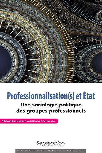 Professionnalisation(s) et Etat : Une sociologie politique des groupes professionnels