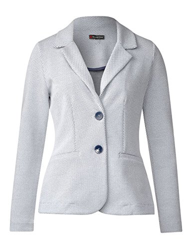 Street One Damen Blazer Mehrfarbig (Off White 20108)