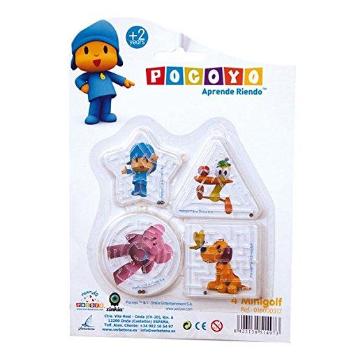 Pocoyo - Blíster con 4 minigolf (Verbetena 016000317)