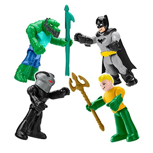 DC Super Friends Heroes & Villains Imaginext Set Aquaman Black Manta by Imaginext 3