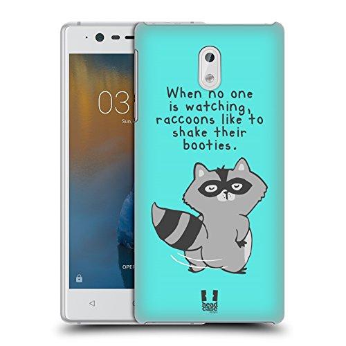 Head Case Designs Booty Shake Das Geheime Leben Der Fantastischen Tiere Ruckseite Hülle für Nokia 3 (Vor Bootie)
