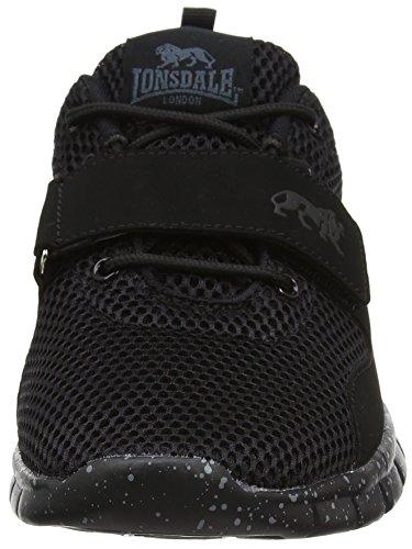 Lonsdale Novas, Scarpe da Corsa Uomo Black (Black)