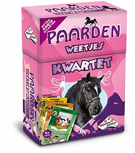 Identity Games 0631023 Pferde Quartettspiel