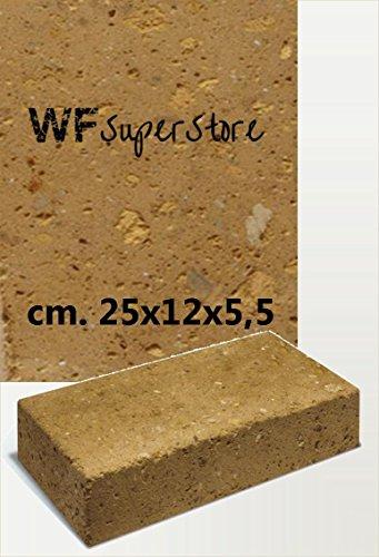 WUEFFE S.R.L. Mattoncini in tufo cm. 25x12x5,5 - muretti Pavimenti aiuole Giardino