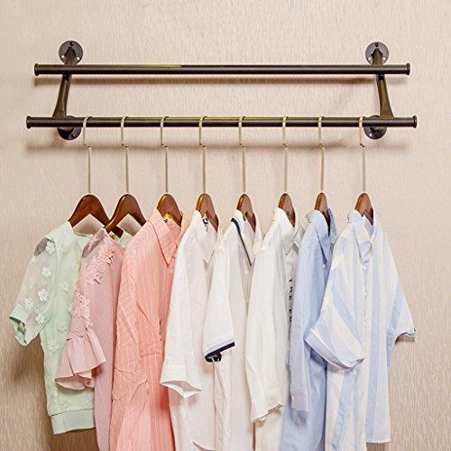 48 Wall Coat Rack (Wall coat rack-Jack Retro- schwarzer Haken-Kleiderständer-Eisen-Wand-Gestell-Wohnzimmer-Schlafzimmer-Studien-Hut-Gestell dauerhafte Abnutzung/Nicht einfach zu rosten (80CM, 100CM, 120CM))