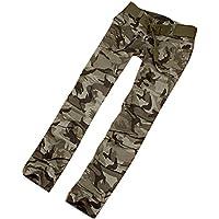 Mujer Camuflaje Pantalones Carga Pantalones - Señoras Trozos Cremallera Multifunción Al aire libre Montaña Para caminar Trabajo Largo Trekking Pantalones S - 5XL Meedot
