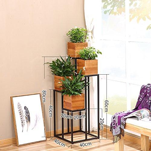 Fioriere da esterno scaffale per piante fiore stand - Porta piante da esterno ...