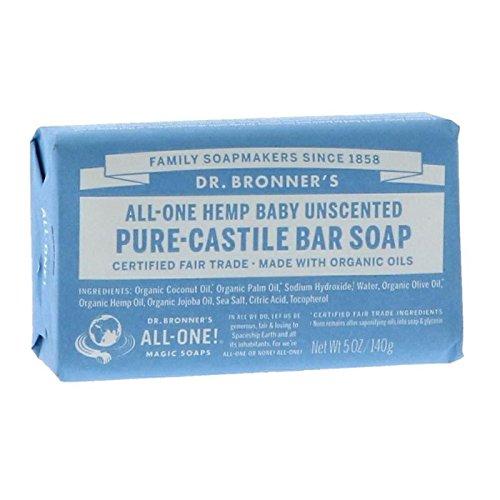 Preisvergleich Produktbild Dr Bronner's   Baby Castile Bar Soap   12 x 140g