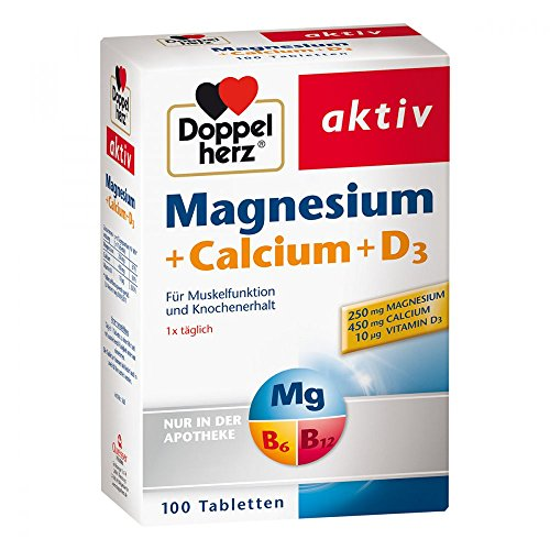 Doppelherz Magnesium + Calcium + D3 Tabletten 100