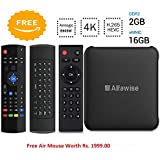 Alfawise S95 Android 7.1, Android TV Box 2GB/16GB Amlogic S905W UHD 4K 1080P Smart TV Box Set Top Box TX3 Mini X96 Mini MXQ Pro (Free 3 In 1 Air Mouse)