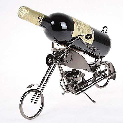 Yangxuelian Cremagliera del Vino Espositore da Tavolo con Supporto per Bottiglie di Vino da appoggio Portabottiglia (Color : 2#, Size : 1 Bottles)