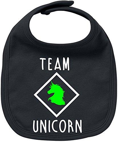 EZYshirt® Team Unicorn Baby Lätzchen Halstuch