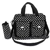 eLifeStore New Polka Dots Sac en sac–Baby Sac à langer sac à langer sac à langer, noir