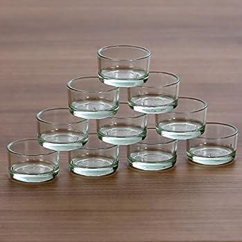 ikea glimma teelichthalter 12 st ck glas. Black Bedroom Furniture Sets. Home Design Ideas