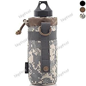 D5 Column Collapsible Military Kettle Bag Plug-in Bag for Outdoor STH-289423 - Urban Camouflage