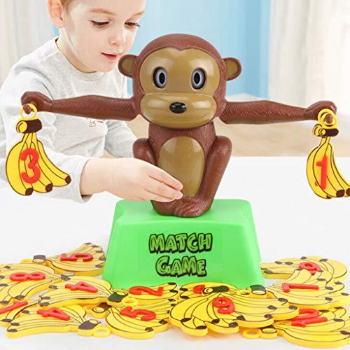 Bildung Squishy Spielzeug aufblasbares Spielzeug im Freien Spielzeug,AFFE Balance Cooles Mathe-Spiel für Mädchen und Jungen Spaß pädagogisches Geschenk ()
