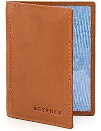 Gryphen - Cartera para mujer de Piel