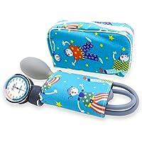Esfigmomanometro Tensiómetro manual pediatrico profesional ad aneroide modelo clásico con brazalete de colores.