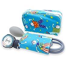 Esfigmomanometro Tensiómetro manual pediatrico profesional ad aneroide modelo clásico con brazalete de colores para ninos DOCTOR