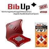 BIBUP 3.0 -- De puissants aimants pour le sport, running, cycling (ROUGE, MATTE)