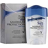 Sure Men Maximum Protection Fresh Scent Cream Anti-Perspirant Deodorant 45ml
