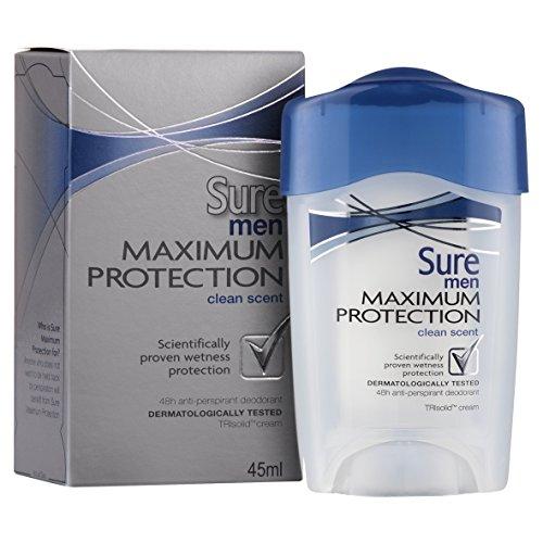 Certo Massima protezione Clean Men Profumo Crema deodorante antitraspirante -