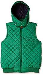 US Polo Association Boys Casual Jacket (JK5125_Green_9 - 10 years)