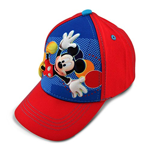 Disney Baseball Cap Mickey Mouse rot Youth/Kinder Gr??e 3D-pop-up Hat 275188 -