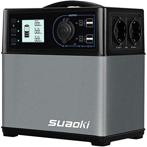 Suaoki 400Wh/120,000mAh Groupes éléctrogènes...