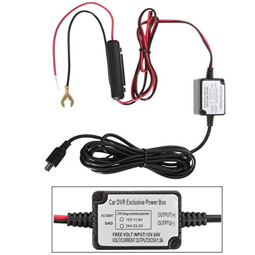 GOZAR Car Dash Kamera Cam Hard Wire Kit Micro Usb Für Nextbase 101 112 Mini 2, 3 G1W