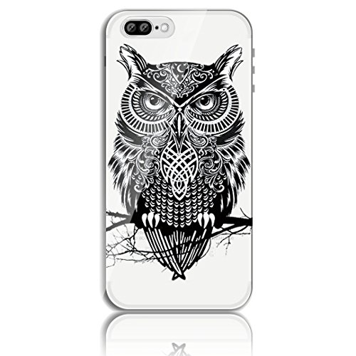 iPhone 7 Plus Silikon Hülle,iPhone 7 Plus Hülle,Sunroyal TPU Case Schutzhülle Silikon Crystal Kirstall Clear Case Durchsichtig,Cute Lovely Funny China Panda Ballon Malerei Muster Transparent Weichem S Pattern 07