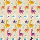 Fabulous Fabrics Baumwollstoff Cretonne Alpaka – beige