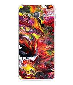 PrintVisa Designer Back Case Cover for Samsung Galaxy A8 (2015) :: Samsung Galaxy A8 Duos (2015) :: Samsung Galaxy A8 A800F A800Y (MIXED COLOURS OF WATERS IN OIL )
