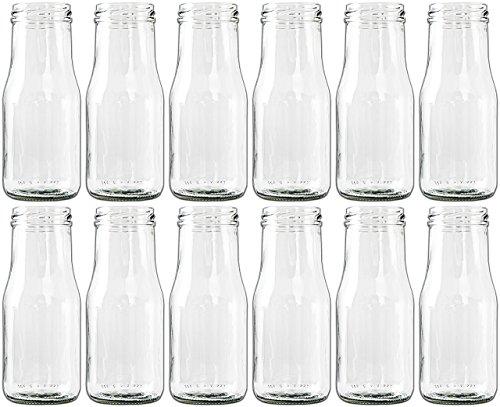 Unbekannt 12 x Glasfläschchen im...