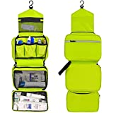 CYBERNOVA Multi-functional Waterproof Compact Hanging Cosmetic Travel Bag Toilet Bag Toiletry Bag Washbag Organizer...
