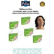 Pufai Breathe Fresh Nasal Strips.50 Piece in 5 Box Standart Size Nasal Strips (55 * 16 mm)