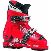 Roces Botas de esquí Idea Rojo/Negro, 30-35