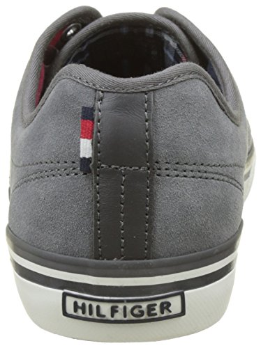 Tommy Hilfiger  P2285aulie 7b, Basses homme Gris (Steel Grey)