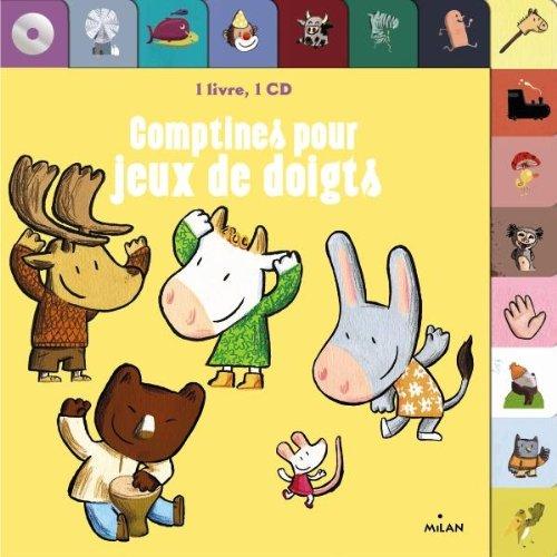 Comptines pour jeux de doigts + CD