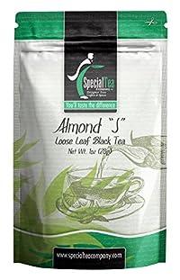 Special Tea Loose Leaf Sampler Black Tea, Almond J, 1 Ounce