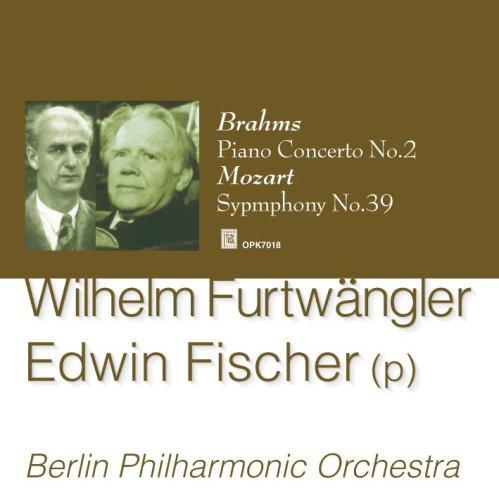 Furtwangler : Mozart Symphony No.39, Brahms Piano Concerto No.2 Brahms Symphony 2 Fischer