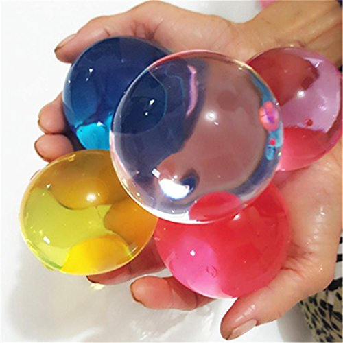 8-12mm Große Wasser Perlen, Upxiang Magic Water Bullet Bälle, Super Large Water Beads, Water Growing Jelly Balls, Wasser Perlen Mud Grow, Magic Jelly Balls, Wedding Party Decoration Kids Toy Plant - Crystal Perlen Soil